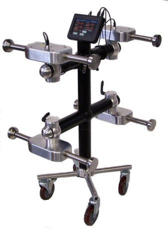 Forklift clamp tester